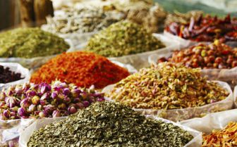Herbs and Spices at the Market, Dubai
