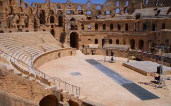 Roman Ampitheatre, Tunisia