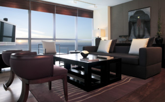The suite at The Setai, luxury hotel in Miami