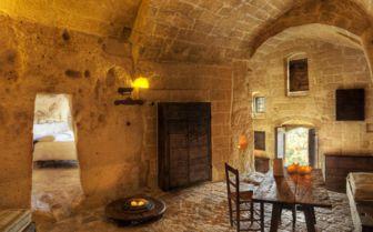 Room at Sextantio Grotte Della Civitta Matera
