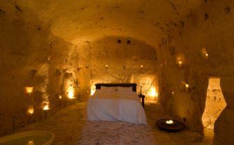 Honeymoon Suite, Sextantio Grotte Della Civitta Matera