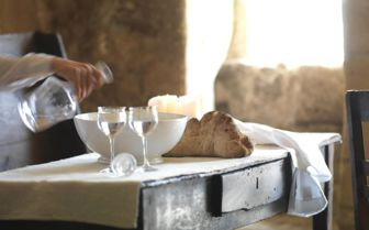 Breakfast at Sextantio Grotte Della Civitta Matera