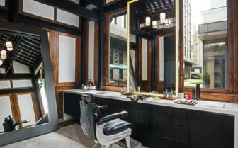 Barbers, Temple House Hotel