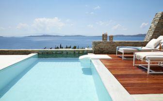 Private Pool at Eagles Villas