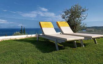 Sunbeds at Camvillia Resort