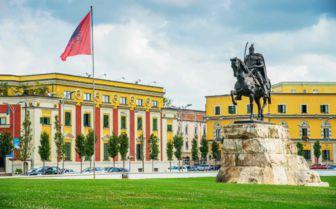 Skanderbeg Square, Albania