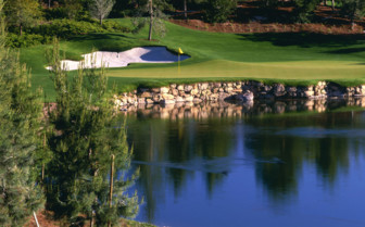The golf club at The Wynn Las Vegas and Encore Resort, luxury hotel in Las Vegas
