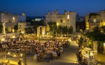 Outdoor Courtyard, Borgo Egnazia