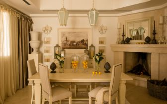 Villa Dining Room, Borgo Egnazia