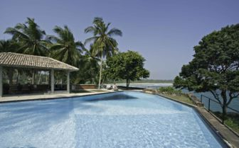 Swimming Pool at Claughton House, Sri Lanka
