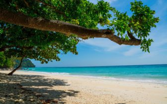 Image of a beach on Koh Lanta