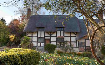 Pictured is Anne Hathaways cottage, Stratford