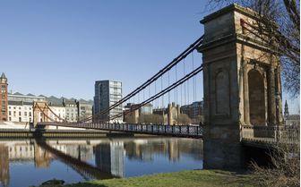 Glasgow's Suspension Bridge