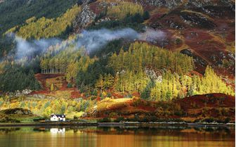 A view of the Isle of Skye in Autumn