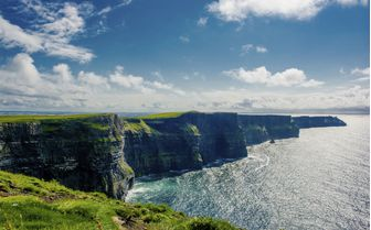 The stunning Cliffs of Moher