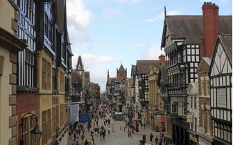 An image of Chester city centre
