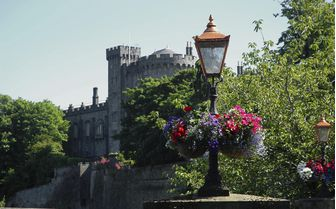A view of Kilkenny Castle, Ireland