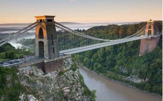 A picture of the Suspension Bridge in Clifton, Bristol