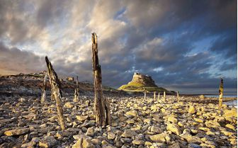 An image of Lindisfarne Castle, Northumberland