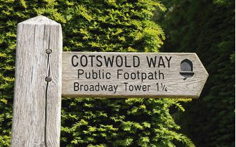 A Cotswold footpath