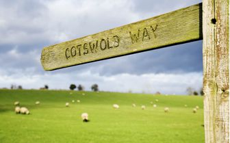 A picture of the Cotswold walking way