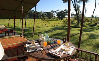 Elephant Pepper Camp Breakfast
