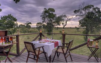 Elephant Pepper Camp Dinner