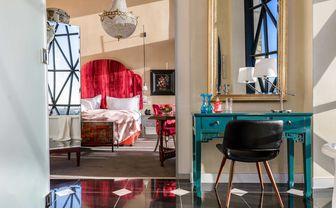 the silo bedroom