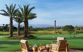 Bar terrace at the golf