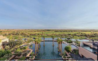 Hotel pool views