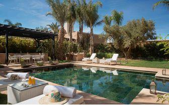 Princes Villa pool