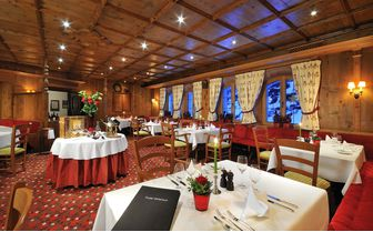 The Tiroler Restaurant at The Arlberg Hospiz, Austria