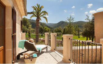 deluxe terrace room Castell son Claret, Mallorca
