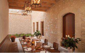 Restaurant at Castell son Claret