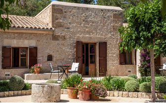 Castell son Claret Village