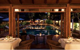 tamarind restaurant with pool view