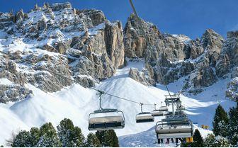 Ski lifts Italy