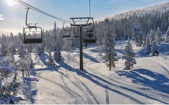 Ski lifts Sweden