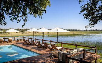 chiefs camp botswana pool