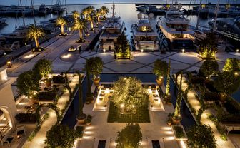 luxury hotel view