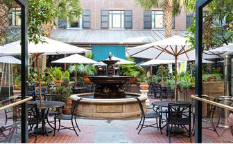 Belmond Charleston Place courtyard