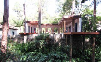 Luxury hotel gardens