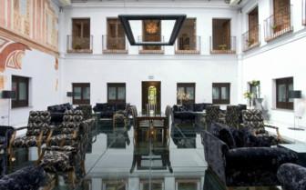 Terrace at Palacio del Bailio