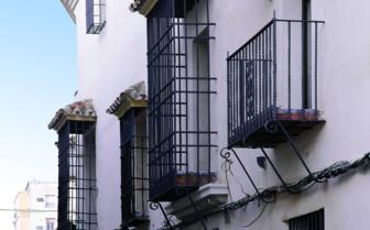 The exterior at Palacio del Bailio, luxury hotel in Spain