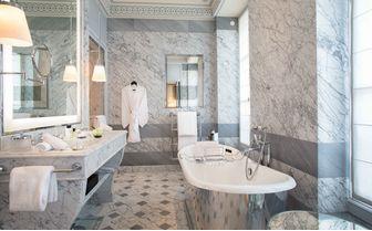 Bathroom at La Reserve Paris
