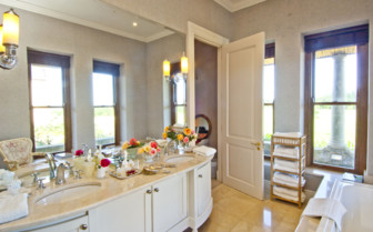 Bathroom at Kurland Villa, luxury hotel in South Africa