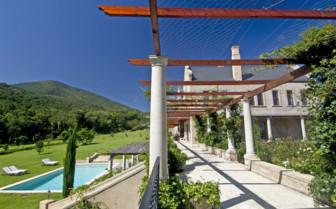 The exterior at Kurland Villa hotel