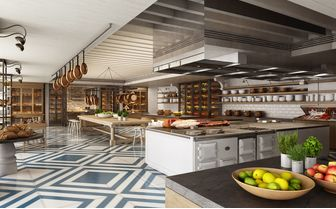 le saint geran kitchen