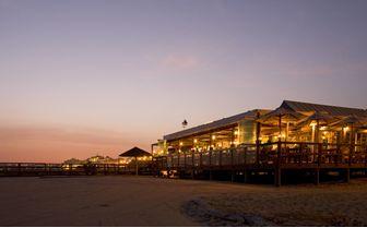 Vila Vita beach restaurant