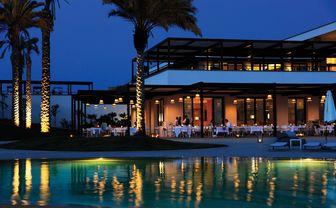 Verdura Resort Pool Evening